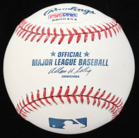 Julio Urias Signed OML Baseball (PSA COA) at PristineAuction.com