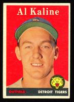 Al Kaline 1958 Topps Set Break #70 White Letter at PristineAuction.com