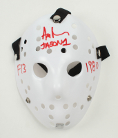 "Ari Lehman Signed ""Friday the 13th"" Mask Inscribed ""Jason 1"", ""F13"" & ""1980"" (Lehman Hologram) at PristineAuction.com"