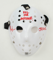 "Ari Lehman Signed ""Friday the 13th"" Mask Inscribed ""Kill For Mother!"" & ""Jason 1"" (Lehman Hologram) at PristineAuction.com"