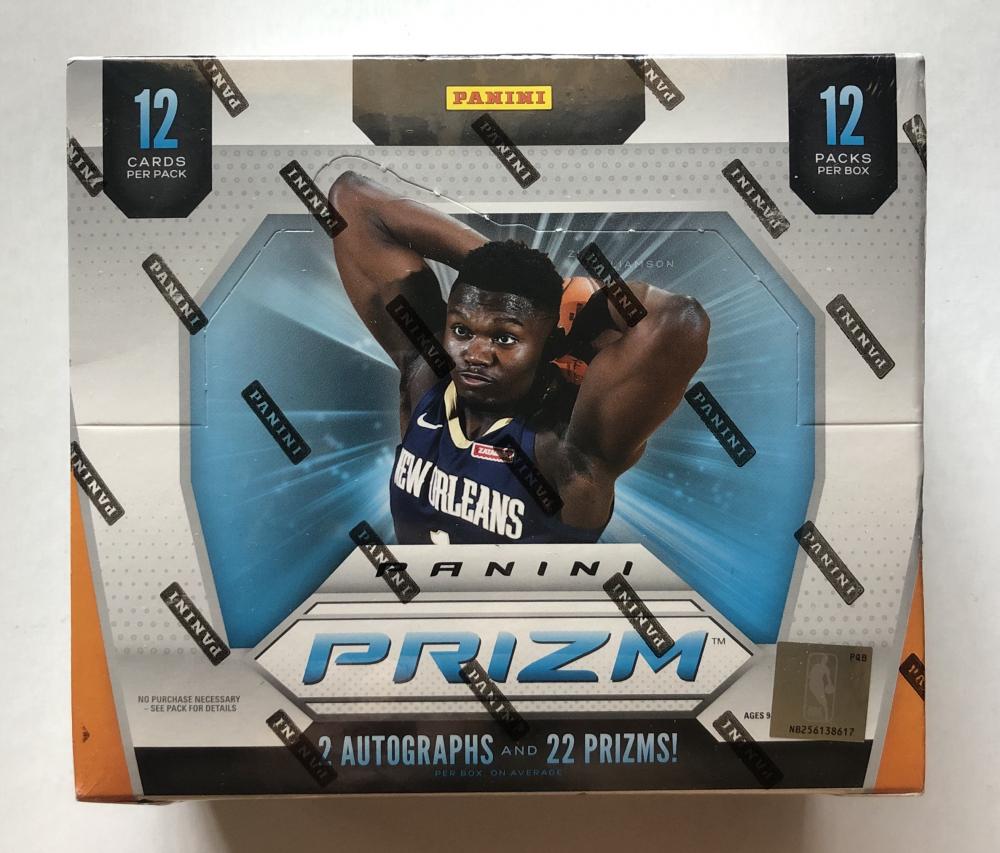 2019-20 Panini Prizm Basketball Hobby Box with (12) Packs at PristineAuction.com