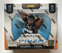 2019-20 Panini Prizm Basketball Hobby Box with (12) Packs at PristineAuction.com
