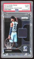 Ja Morant 2019-20 Panini Prizm Sensational Swatches #2 (PSA 9) at PristineAuction.com