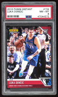 Luka Doncic 2018-19 Panini Instant #134 RC (PSA 8) at PristineAuction.com