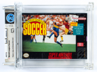 World League Soccer Video Game Cartridge (PSA 9.2) at PristineAuction.com