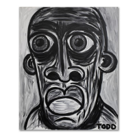 """Todd Goldman Signed """"Like It's a Bad Thing"""" 60x72 Original Acrylic Painting on Gallery Wrapped Canvas at PristineAuction.com"""