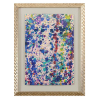 "Wyland Signed ""Pollack Coral Reef"" 22x29 Custom Framed Original Watercolor Painting at PristineAuction.com"