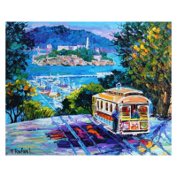 """Yana Rafael Signed """"City by the Bay"""" 24x30 Original Painting on Canvas at PristineAuction.com"""