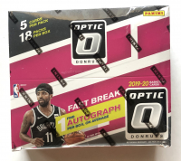 2019-20 Panini Donruss Optic Fast Break Basketball Box with (18) Packs at PristineAuction.com
