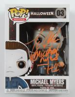 "Tony Moran Signed ""Halloween"" #03 Michael Myers Funko Pop! Vinyl Figure Inscribed ""H1"" (Legends COA) at PristineAuction.com"