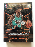 2019/20 Panini Obsidian Basketball Hobby Box with (7) Cards at PristineAuction.com