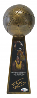 """Shaquille O'Neal Signed 14"""" Championship Basketball Trophy (Beckett COA) at PristineAuction.com"""