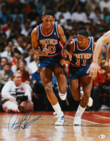 Dennis Rodman Signed Pistons 16x20 Photo (Beckett COA) at PristineAuction.com