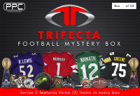 Press Pass Collectibles Football Trifecta Mystery Box – Series 2 (Limited to 50) at PristineAuction.com