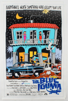 """The Blue Iguana"" 27x40 Original Movie Poster at PristineAuction.com"