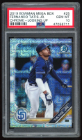 Fernando Tatis Jr. 2019 Bowman Chrome Mega Box Prospects Refractors #BCP25 (PSA 10) at PristineAuction.com