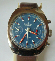 Breitling Sprint Chronograph Vintage Men's Watch (Box & Papers) at PristineAuction.com