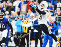 Keenan Allen Signed Chargers 11x14 Photo (Beckett COA) at PristineAuction.com