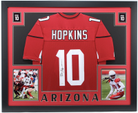 DeAndre Hopkins Signed 35x43 Custom Framed Jersey (JSA Hologram) at PristineAuction.com