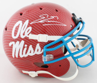Evan Engram Signed Ole Miss Rebels Full-Size Authentic On-Field Hydro-Dipped Helmet (JSA COA) at PristineAuction.com