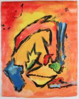 "Retne ""Refer"" 24x32 Original Artwork On Unstretched Canvas (PA LOA) at PristineAuction.com"