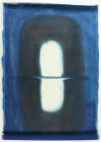 "Tadas Zaicikas ""Sunrise in Blue"" 30x48 Original Artwork On Unstretched Canvas (PA LOA) at PristineAuction.com"