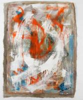 """Tadas Zaicikas """"Fantasia #21"""" 28x38 Original Artwork On Unstretched Canvas (PA LOA) at PristineAuction.com"""