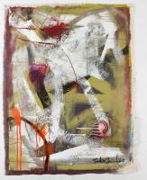 """Tadas Zaicikas """"Fantasia #20"""" 28x38 Original Artwork On Unstretched Canvas (PA LOA) at PristineAuction.com"""