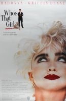 """Who's That Girl"" 27x40 Original Movie Poster at PristineAuction.com"