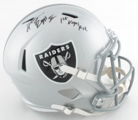 "Henry Ruggs Signed Raiders Full-Size Speed Helmet Inscribed ""1st Vegas Pick"" (Fanatics Hologram) at PristineAuction.com"