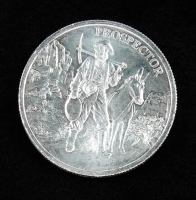 """1 Troy Ounce .999 Silver """"Provident Prospector"""" Bullion Round at PristineAuction.com"""