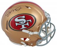 Joe Montana Signed 49ers Full-Size Authentic On-Field Speed Helmet (JSA COA) at PristineAuction.com