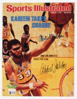 Kareem Abdul-Jabbar Signed LE Lakers 8.5x11 Photo (Beckett COA) at PristineAuction.com