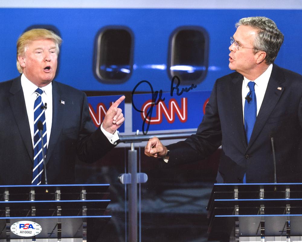 Jeb Bush Signed 8x10 Photo (PSA Hologram) at PristineAuction.com