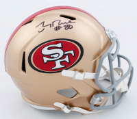 Jerry Rice Signed 49ers Full-Size Speed Helmet (Beckett COA) at PristineAuction.com