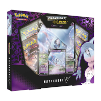 Pokemon Champion's Path Hatterene V Collection Box at PristineAuction.com