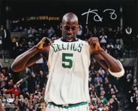 Kevin Garnett Signed Celtics 16x20 Photo (Beckett COA) at PristineAuction.com