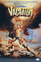 """Chevy Chase Signed """"National Lampoon's European Vacation"""" 12x18 Photo (Beckett COA) at PristineAuction.com"""