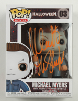 "Nick Castle Signed ""Halloween"" #03 Michael Myers Funko Pop! Vinyl Figure Inscribed ""The Shape"" (Beckett COA) at PristineAuction.com"
