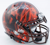 Nick Chubb Signed Full-Size Authentic On-Field Hydro Dipped Helmet (Beckett COA) at PristineAuction.com