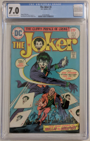 "1975 ""The Joker"" Issue #2 DC Comic Book (CGC 7.0) at PristineAuction.com"