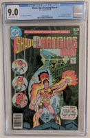 "1977 ""Shade The Changing Man"" Issue #1 DC Comic Book (CGC 9.0) at PristineAuction.com"