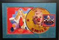 "Katy Perry Signed ""Smile"" 18x26 Custom Framed CD Cover Display (JSA COA) at PristineAuction.com"