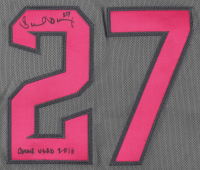"Brandon Drury Signed Game-Used Diamondbacks Jersey Inscribed ""Game Used 2016"" (MLB Hologram) at PristineAuction.com"