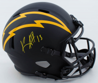 Keenan Allen Signed Chargers Full-Size Eclipse Alternate Speed Helmet (Beckett COA) at PristineAuction.com
