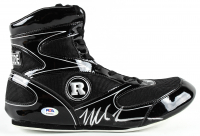 Mike Tyson Signed Ringside Boxing Shoe (PSA COA) at PristineAuction.com