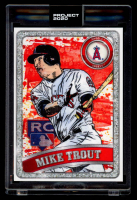 Mike Trout 2020 Topps Project 2020 #100 / Blake Jamieson / Ben Baller (Project 2020 Encapsulated) at PristineAuction.com