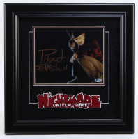 "Robert Englund Signed ""A Nightmare on Elm Street"" 17.75x17.75 Custom Framed Photo Display (Beckett COA) at PristineAuction.com"