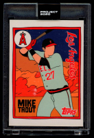 Mike Trout 2020 Topps Project 2020 #63 / Fucci (Project 2020 Encapsulated) at PristineAuction.com