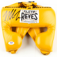 Mike Tyson Signed Cleto Reyes Headgear (PSA COA) at PristineAuction.com